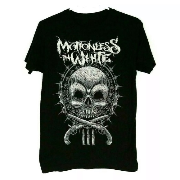 Motionless In White Metal Band Graphic T Shirt MIW